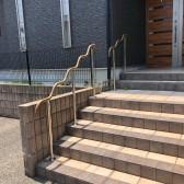 中島様邸(外部木製手すり➨樹脂取替工事)⓷